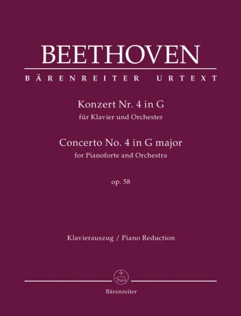 Piano Concerto No.4 In G Major, Op.58 (Urtext): Two Pianos (2PF) (Barenreiter)
