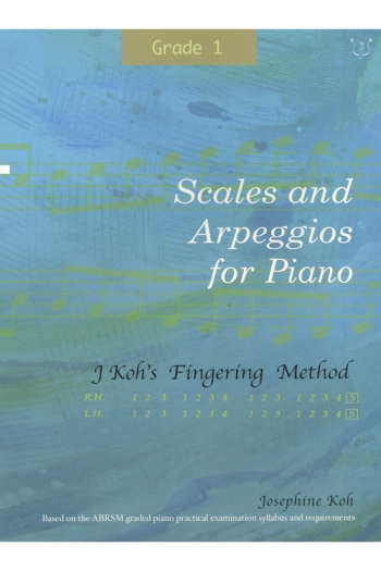 Koh: Scales And Arpeggios For Piano - Fingering Method (Grade 1)