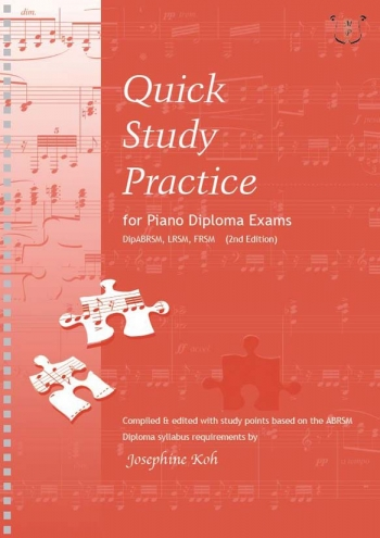 Quick Study Practice For Piano Diploma Exams (Koh)