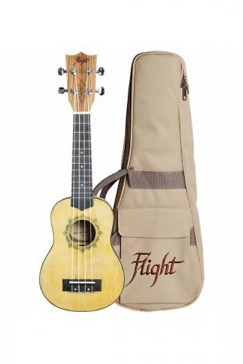 Flight: DUS330 Relic Soprano Ukulele (With Bag)