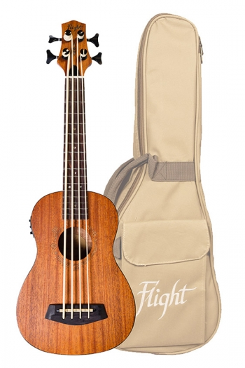 Flight: DUBASS Bass Electro Ukulele (With Bag)