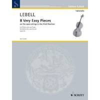 8 Very Easy Pieces Cello And Piano (Schott)