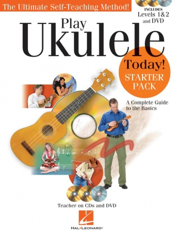 Play Ukulele Today Starter Pack: 2 X CD, DVD