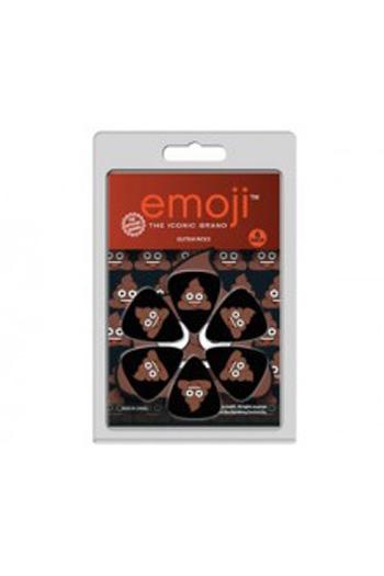 Premium Iconic Emoji Poo Plectrum Pack 6 Pack