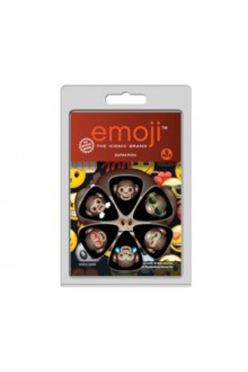 Premium Iconic Emoji Plectrum Pack 6 Pack