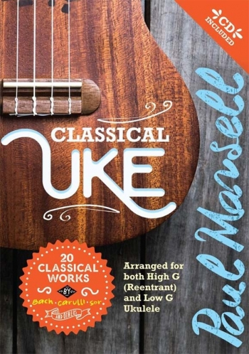 Classical Uke: 20 Classical Works: Book & Cd