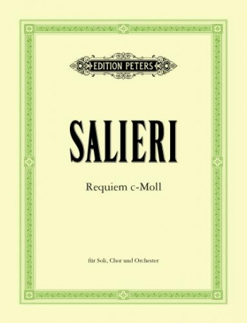 Requiem In C Minor: Vocal Score (Peters)