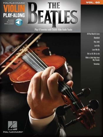Violin Play-Along Volume 60: The Beatles (Book/Online Audio)