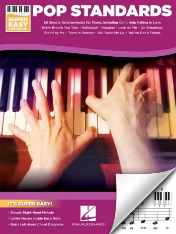 Super Easy Songbook: Pop Standards: 15 Popular - Keyboard