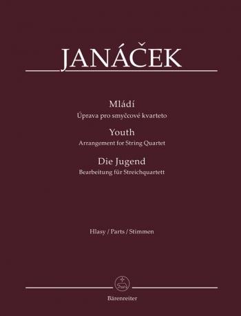 Mladi (Youth) Arranged For String Quartet (Parts)