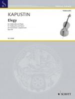 Elegy Op.96: Cello & Piano (Schott)