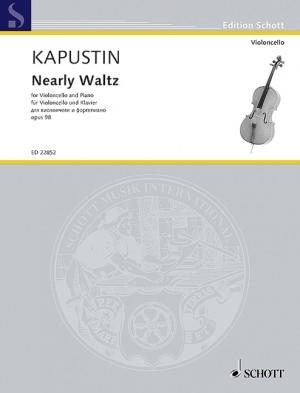 Nearly Waltz Op.98: Cello & Piano (Schott)