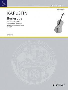 Burlesque Op.97: Cello & Piano (Schott)