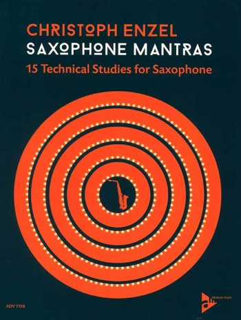 Saxophone Mantras: 15 Technical Studies For Saxophone (Enzell)