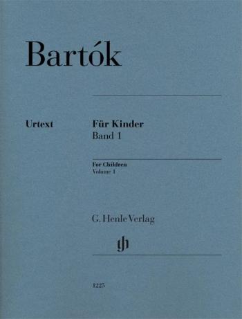 For Children Vol.1 Piano Solo (Henle)