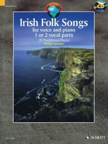 Irish Folk Tunes For Voice: 20 Traditional Pieces Book & Cd