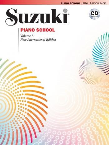 Suzuki Piano School Vol.6 Piano (Revised) Book & Cd