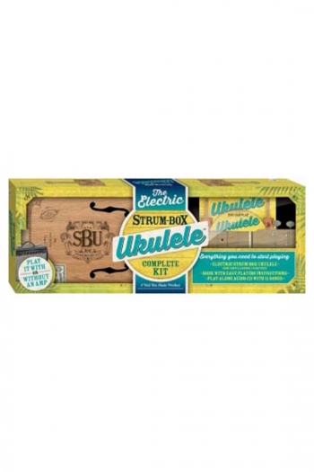 The Electric Strum Box Ukulele Building Kit