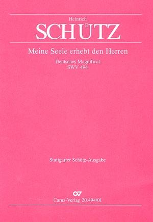 Magnify Him! SWV494 Vocal Score  (Carus Verlag)