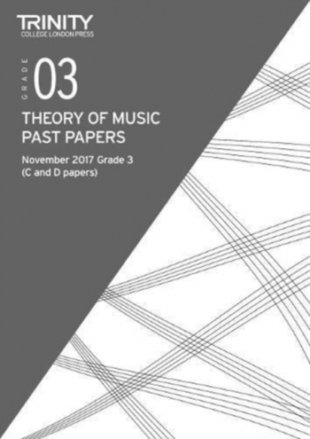 Trinity College London Theory Of Music Past Paper (November 2017) Grade 3