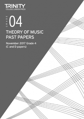 Trinity College London Theory Of Music Past Paper (November 2017) Grade 4