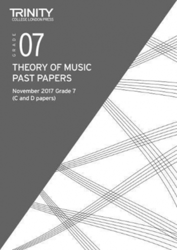 Trinity College London  Theory Of Music Past Paper (November 2017) Grade 7