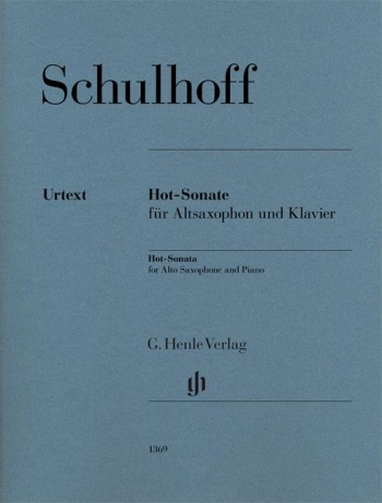 Hot-Sonata : Alto Saxophone & Piano (Henle)