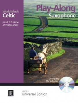 Celtic – Play Along Saxophone Book & CD