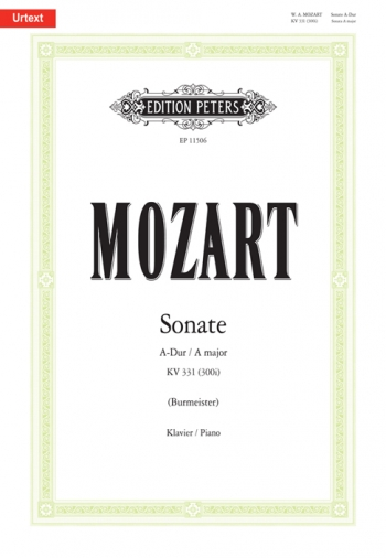 Sonata A Major: K331: Piano (Peters)