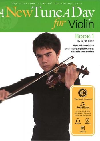 New Tune A Day: Violin Book 1: Book & Audio Download (bennett)