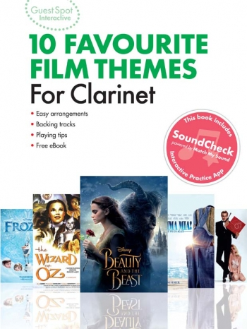 Guest Spot Interactive: 10 Favourite Film Themes: Clarinet (Book & Audio)