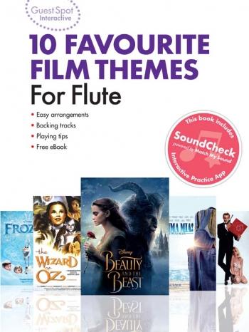 Guest Spot Interactive: 10 Favourite Film Themes: Flute (Book & Audio)