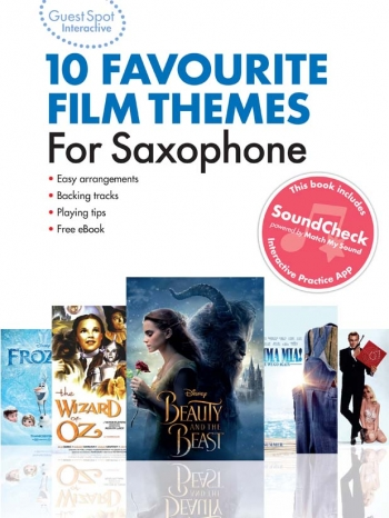 Guest Spot Interactive: Favourite Film Themes: Alto Sax (Book & Audio)
