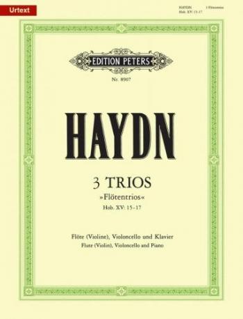 Three Trios: Flute Cello & Piano (Peters)