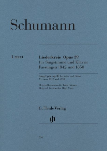 Liederkreis: Op.39: Song Cycle: High Voice And Piano