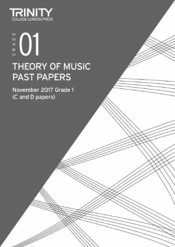 Trinity College London Theory Of Music Past Paper (November 2017) Grade 1