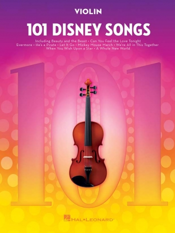101 Disney Songs: Violin Solo