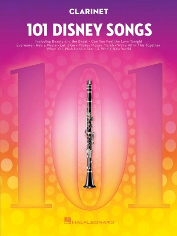 101 Disney Songs: Clarinet Solo