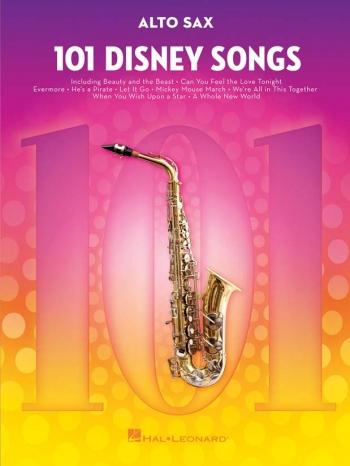 101 Disney Songs: Alto Sax Solo