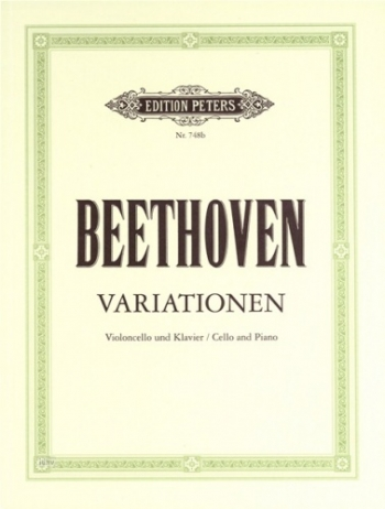Variations: Cello & Piano (Peters)