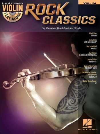 Violin Play-Along Volume 24: Rock Classics (Book/CD)