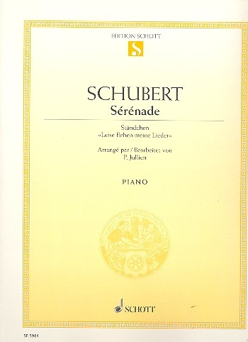 Sérénade Piano: Sheet