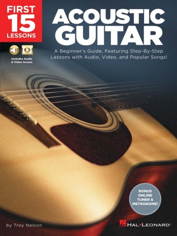 First 15 Lessons - Acoustic Guitar: Book & Audio Download
