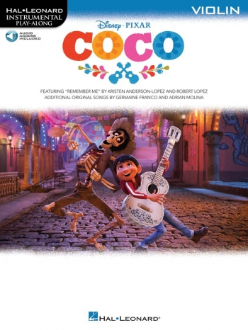 Instrumental Play-Along: Coco: Violin: Book And Audio