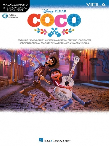 Instrumental Play-Along: Coco: Viola: Book And Audio