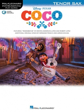 Instrumental Play-Along: Coco: Tenor Saxophone: Book And Audio