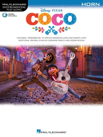 Instrumental Play-Along: Coco: French Horn: Book & Online Audio