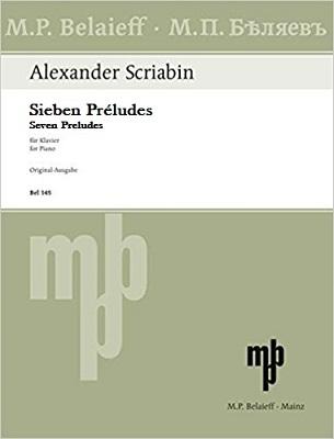 Seven Preludes: Op.17: Piano (Belaieff)
