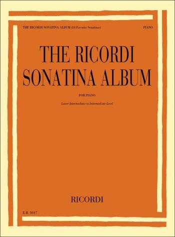 Ricordi Sonatina Album:  For Lower Intermediate To Intermediate Level Piano (Ricordi)