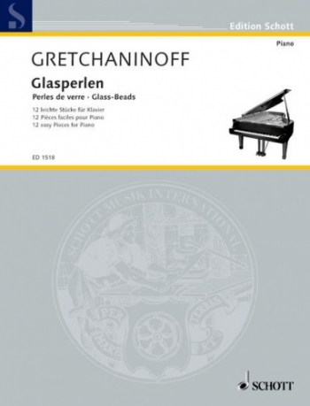 Glass Beads: 12 Easy Pieces: Piano: Op.123 (Schott)